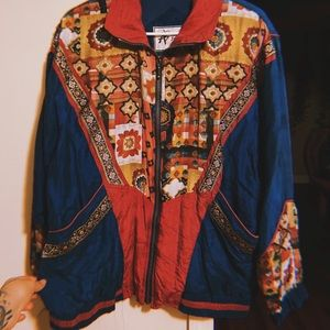 Vintage Jackets & Coats - vintage windbreaker jacket
